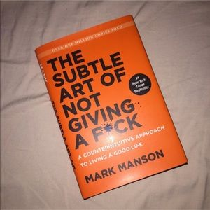 The Subtle Art of Not Giving a Fuck Book